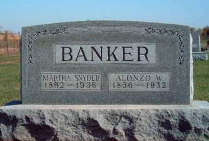 BANKER, ALONZO WALKER - Madison County, Iowa | ALONZO WALKER BANKER