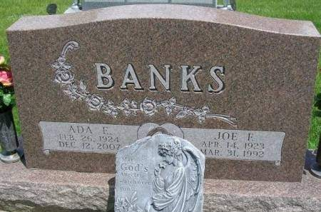 BANKS, JOSEPH FRANCIS - Madison County, Iowa   JOSEPH FRANCIS BANKS