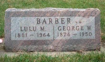 BARBER, LULA MAE - Madison County, Iowa | LULA MAE BARBER