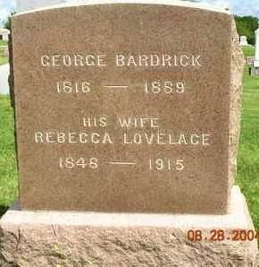 BARDRICK, GEORGE - Madison County, Iowa | GEORGE BARDRICK