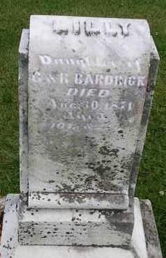BARDRICK, LILLY - Madison County, Iowa   LILLY BARDRICK