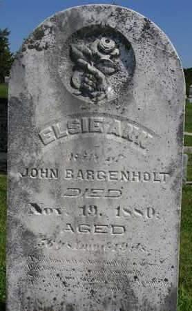 BARGENHOLT, ELSIE ANN - Madison County, Iowa | ELSIE ANN BARGENHOLT