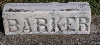 BARKER, UNKNOWN - Madison County, Iowa | UNKNOWN BARKER