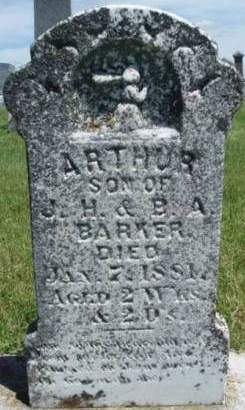 BARKER, ARTHUR - Madison County, Iowa | ARTHUR BARKER