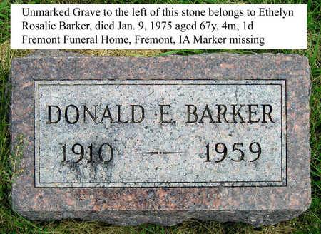 BARKER, ETHELYN ROSALIE - Madison County, Iowa | ETHELYN ROSALIE BARKER