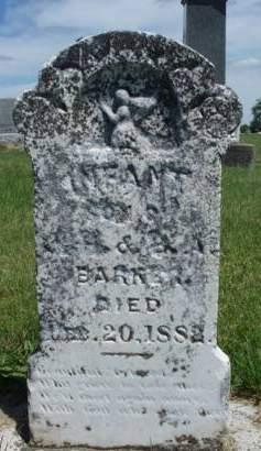 BARKER, INFANT - Madison County, Iowa   INFANT BARKER