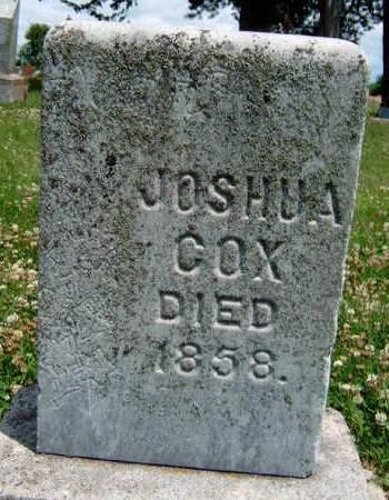 COX, JOSHUA - Madison County, Iowa | JOSHUA COX