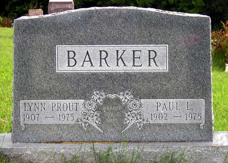 BARKER, PAUL L. - Madison County, Iowa | PAUL L. BARKER