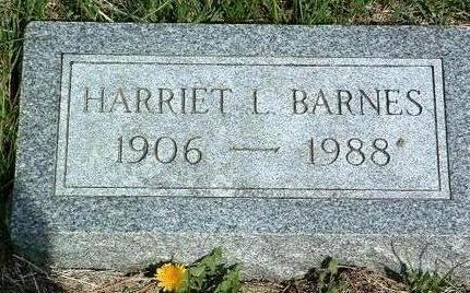 BARNES, HARRIET LANE - Madison County, Iowa | HARRIET LANE BARNES