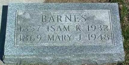 BARNES, MARY JANE - Madison County, Iowa | MARY JANE BARNES
