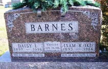 BARNES, DAISY L. - Madison County, Iowa | DAISY L. BARNES