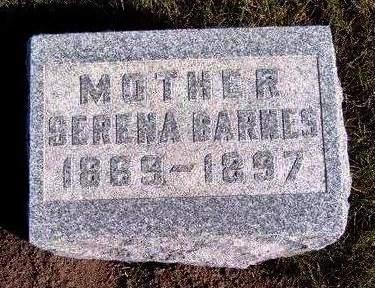 BARNES, SERENA - Madison County, Iowa | SERENA BARNES