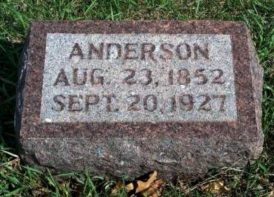 BARNETT, ANDERSON - Madison County, Iowa | ANDERSON BARNETT