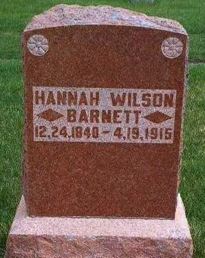 BARNETT, HANNAH - Madison County, Iowa | HANNAH BARNETT
