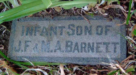 BARNETT, INFANT - Madison County, Iowa | INFANT BARNETT