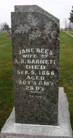BARNETT, JANE - Madison County, Iowa | JANE BARNETT