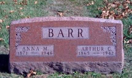 BARR, ARTHUR CLAY - Madison County, Iowa   ARTHUR CLAY BARR