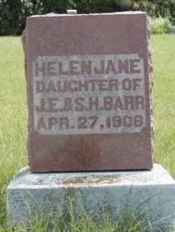 BARR, HELEN JANE - Madison County, Iowa | HELEN JANE BARR