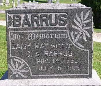 BARRUS, DAISY MAY - Madison County, Iowa   DAISY MAY BARRUS