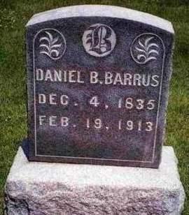 BARRUS, DANIEL BRIGGS - Madison County, Iowa | DANIEL BRIGGS BARRUS