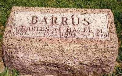 BARRUS, HAZEL MURIEL - Madison County, Iowa | HAZEL MURIEL BARRUS