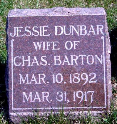 BARTON, JESSIE - Madison County, Iowa | JESSIE BARTON