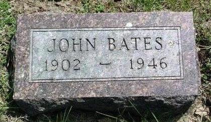 BATES, JOHN - Madison County, Iowa | JOHN BATES