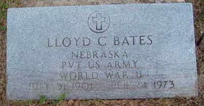 BATES, LLOYD C - Madison County, Iowa | LLOYD C BATES