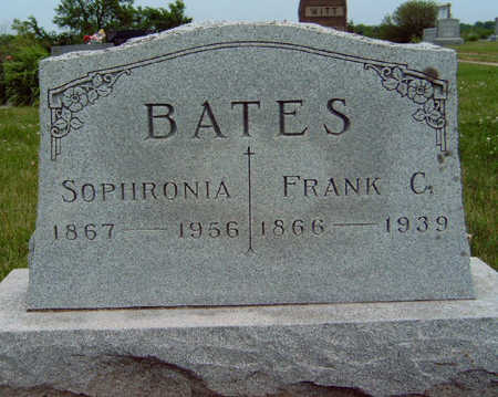 BATES, SOPHRONIA FRANCES - Madison County, Iowa | SOPHRONIA FRANCES BATES