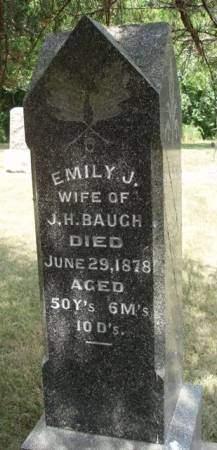 HOOTEN BAUGH, EMILY JANE - Madison County, Iowa | EMILY JANE HOOTEN BAUGH
