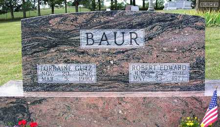 BAUR, LORRAINE DORIS - Madison County, Iowa | LORRAINE DORIS BAUR