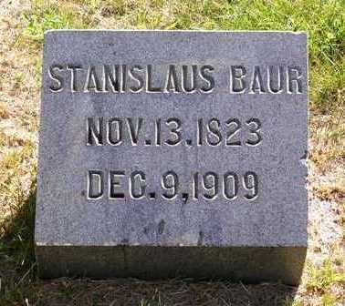 BAUR, STANISLAUS - Madison County, Iowa   STANISLAUS BAUR