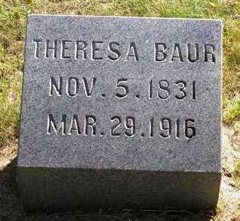 BAUR, THERESA - Madison County, Iowa | THERESA BAUR