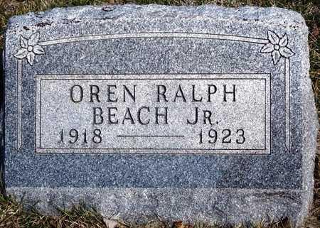 BEACH, OREN RALPH, JR. - Madison County, Iowa | OREN RALPH, JR. BEACH
