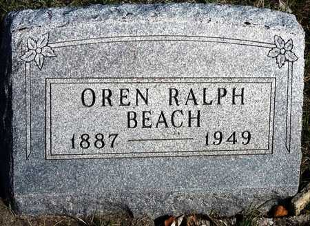 BEACH, OREN RALPH, SR. - Madison County, Iowa | OREN RALPH, SR. BEACH