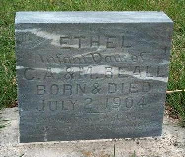 BEALL, ETHEL - Madison County, Iowa | ETHEL BEALL