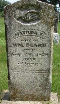 BEARD, MATILDA T. - Madison County, Iowa | MATILDA T. BEARD