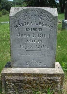 BEARD, MARTHA ANN - Madison County, Iowa | MARTHA ANN BEARD