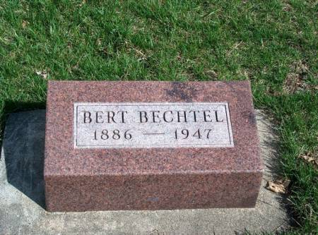 BECHTEL, ALBERT (CYRUS) BERT - Madison County, Iowa | ALBERT (CYRUS) BERT BECHTEL