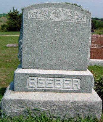 BEEBER, FAMILY STONE - Madison County, Iowa | FAMILY STONE BEEBER