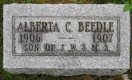 BEEDLE, ALBERTA C. (BERT) - Madison County, Iowa | ALBERTA C. (BERT) BEEDLE