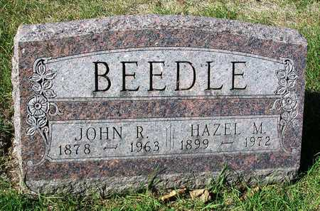 BEEDLE, HAZEL MARGARET - Madison County, Iowa   HAZEL MARGARET BEEDLE