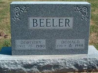 BEELER, ALBERT DONALD - Madison County, Iowa | ALBERT DONALD BEELER