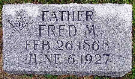 BEELER, FRED M. - Madison County, Iowa   FRED M. BEELER