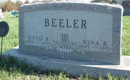 BEELER, NINA BELL - Madison County, Iowa | NINA BELL BEELER