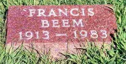 BEEM, FRANCIS - Madison County, Iowa | FRANCIS BEEM