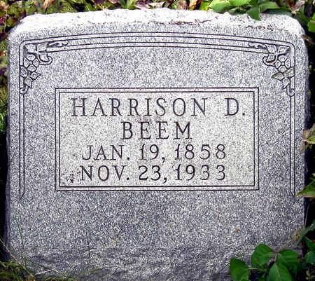 BEEM, HARRISON DURHAM - Madison County, Iowa   HARRISON DURHAM BEEM