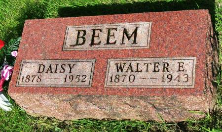 BEEM, WALTER ELWOOD - Madison County, Iowa | WALTER ELWOOD BEEM