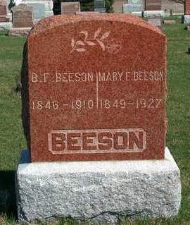 BEESON, BENJAMIN FRANKLIN - Madison County, Iowa | BENJAMIN FRANKLIN BEESON