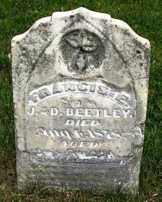 BEETLEY, FRANCIS E. - Madison County, Iowa | FRANCIS E. BEETLEY